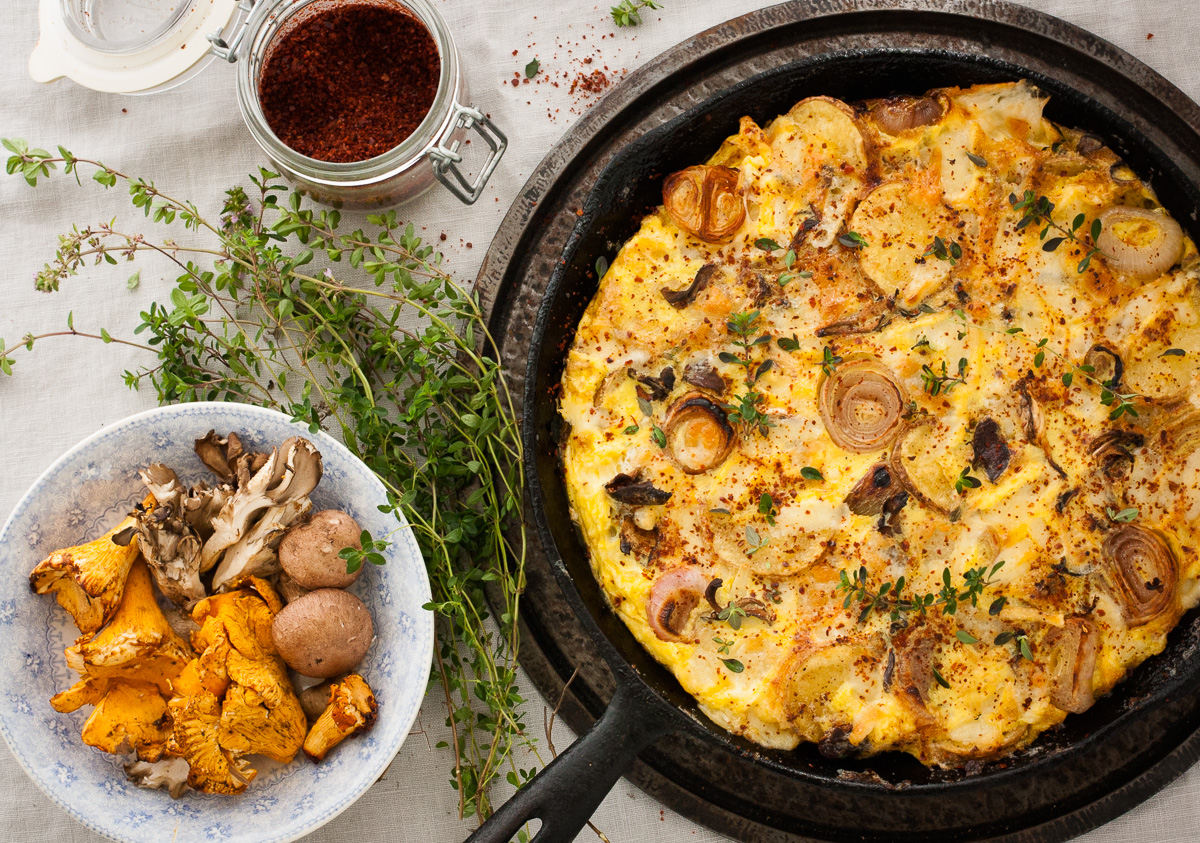 Foraged Mushroom Gratin Recipes — Dishmaps